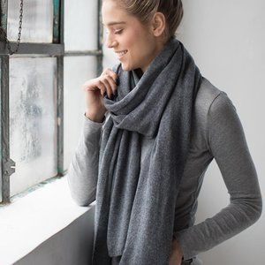 The Cashmere Shop Accessories - 100% Cashmere Scarf from The Cashmere Shop